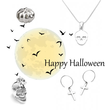Sterling Silver Halloween Jewellery